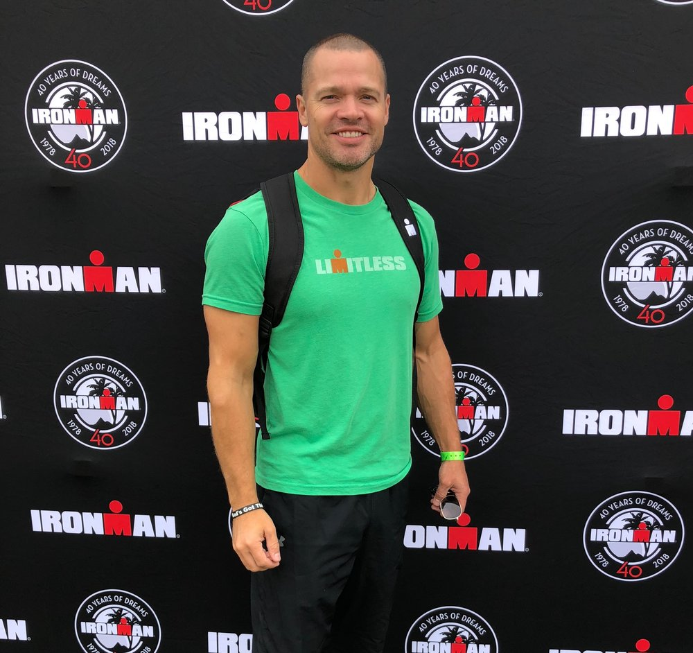 In October of 2018 I competed in the Louisville, Kentucky Ironman triathlon.