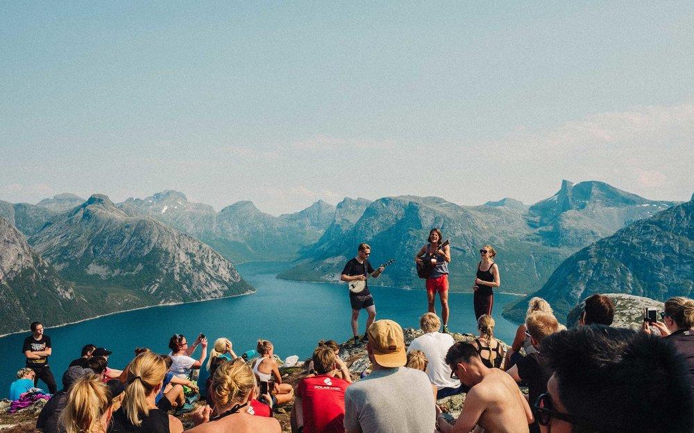 Bodøfestivalen - Musikkfestival tuftet på kreativitet og aktivitet.