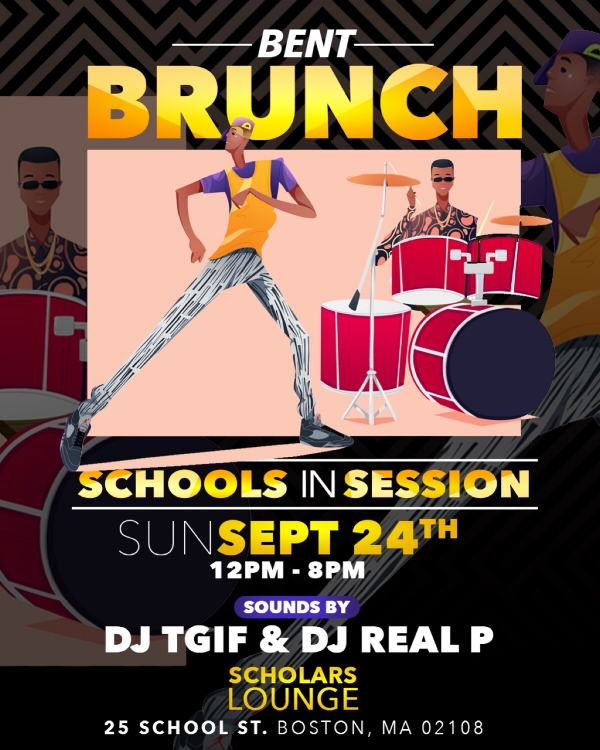 Introducing Bostons newest Brunch at one of the cities most luxurious two-floor cocktail lounges!  With a combination of BENT Party Vibes, Live DJ's , Mimosas and a Tasty Breakfast Menu, this is a brunch that you can not miss!   To Make Brunch Reservations Text 781.408.0612  LETS GET BENT!