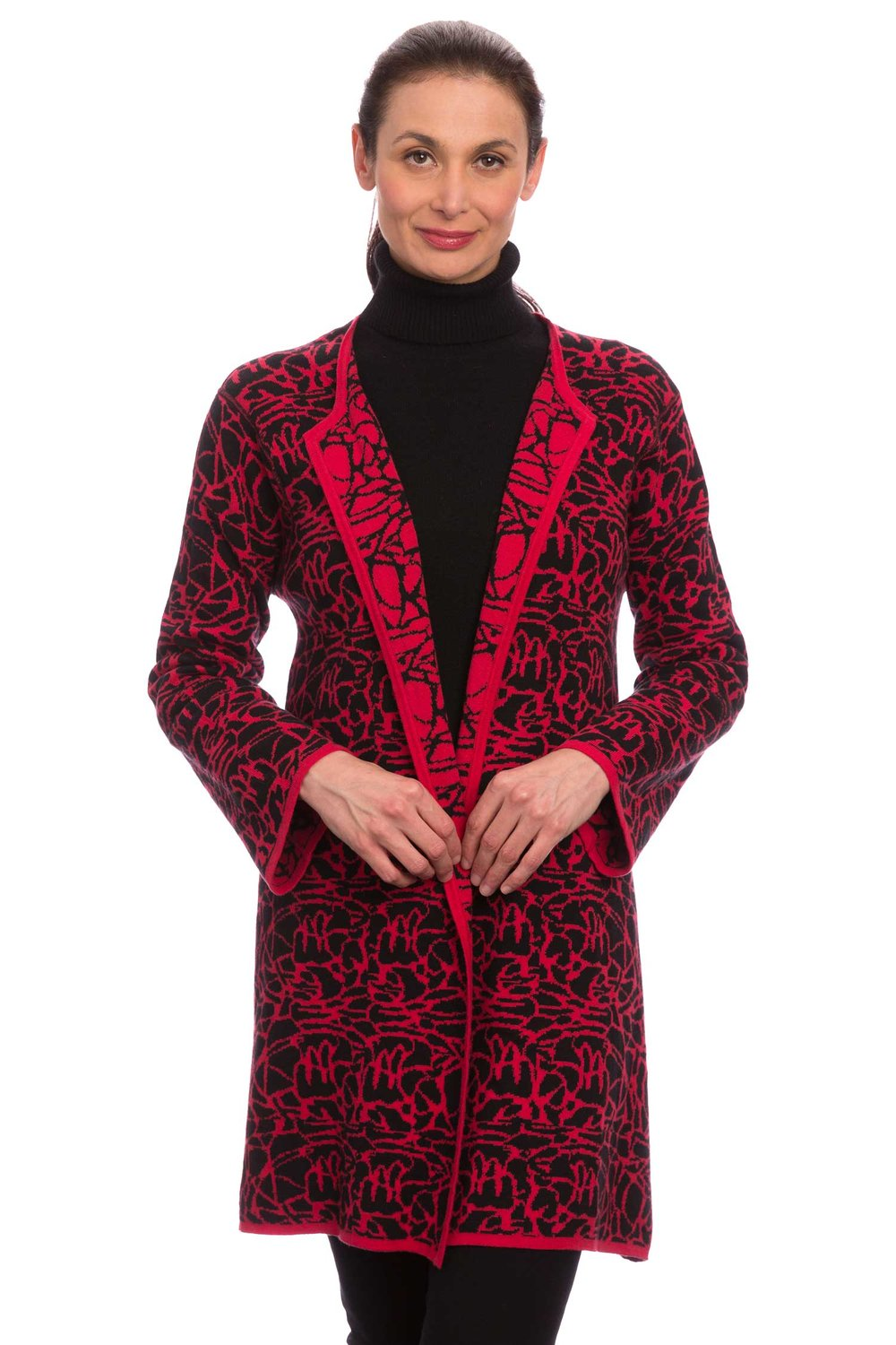 Red / Black Swing Coat – Pebble Beach Collection — Winding River ...