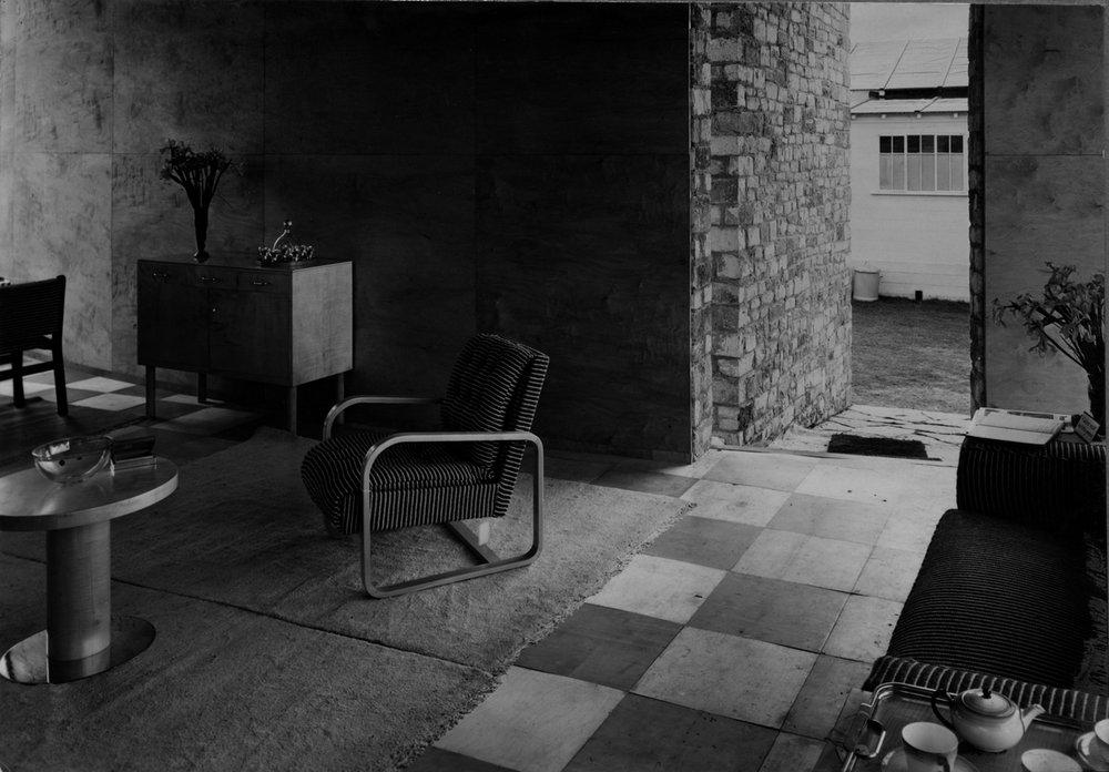 Marcel Breuer Gane Pavillion Interior