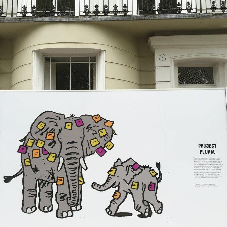 Hoarding London