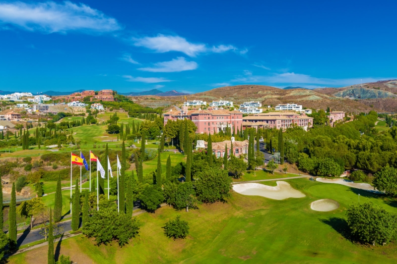 The view of The Villa Padierna Hotel Golf Club and Spa