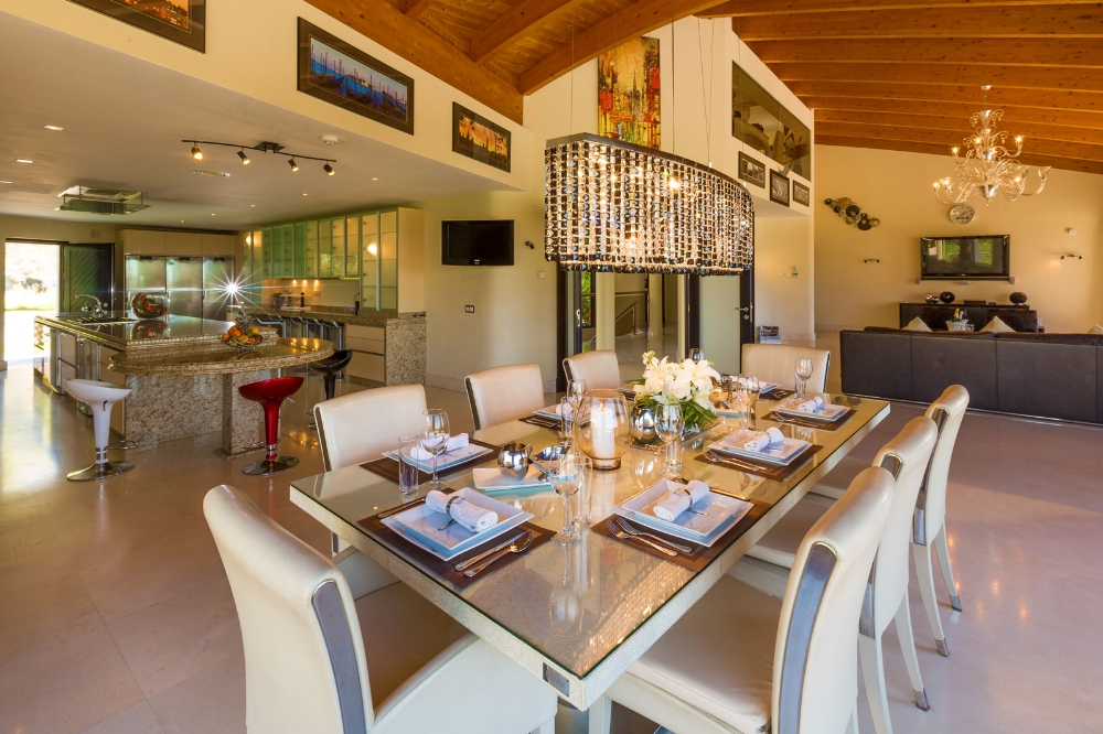 Indoor Dining Area, Villa El Cano, DSV Collection Marbella