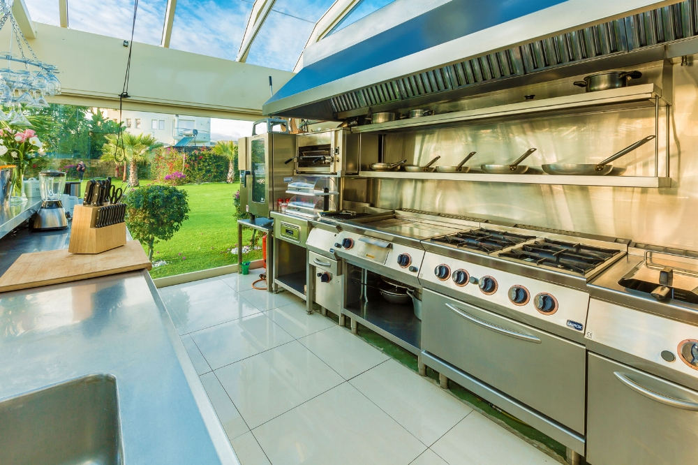 Professional Kitchen, Villa El Cano, DSV Collection Marbella