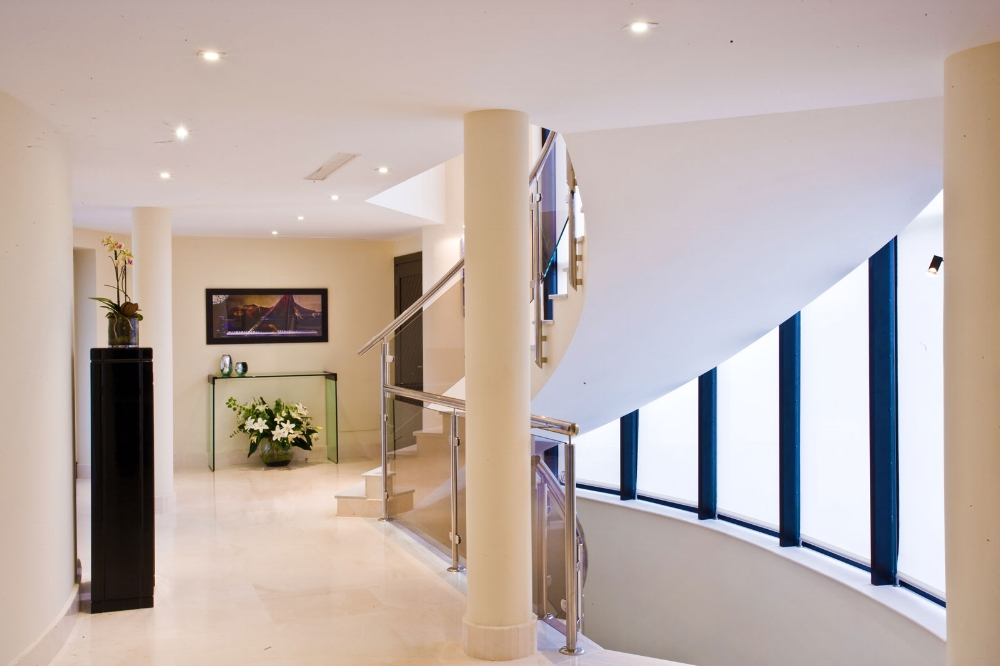 The Hallway Upstairs, Villa El Cano, DSV Collection Marbella