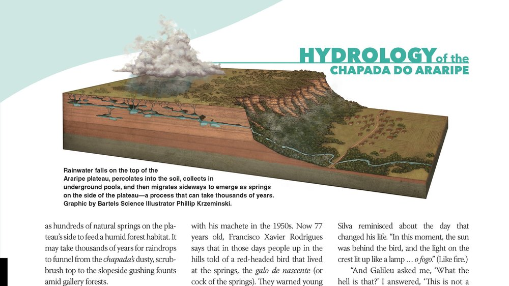 Hydrology of the Chapada do Araripe