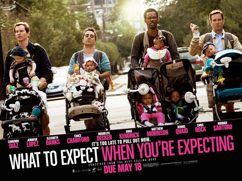 WHAT TO EXPECT WHEN YOU'RE EXPECTING