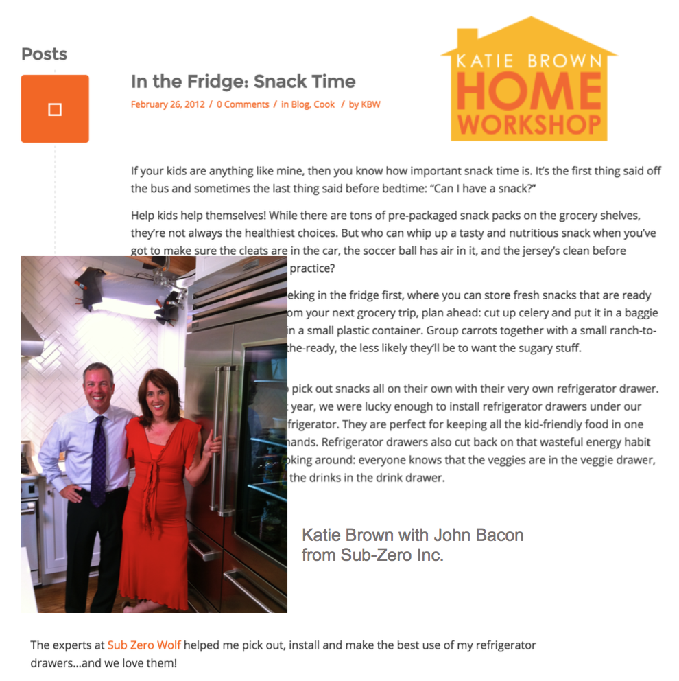 KATIE BROWN HOME WORKSHOP