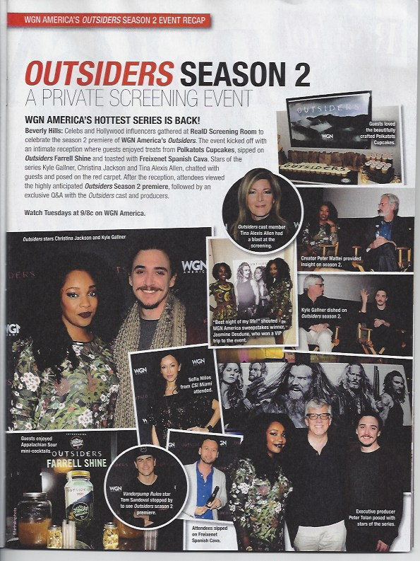 OUTSIDERS | STAR MAGAZINE
