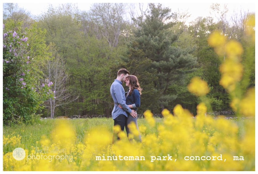 concord ma engagement photos