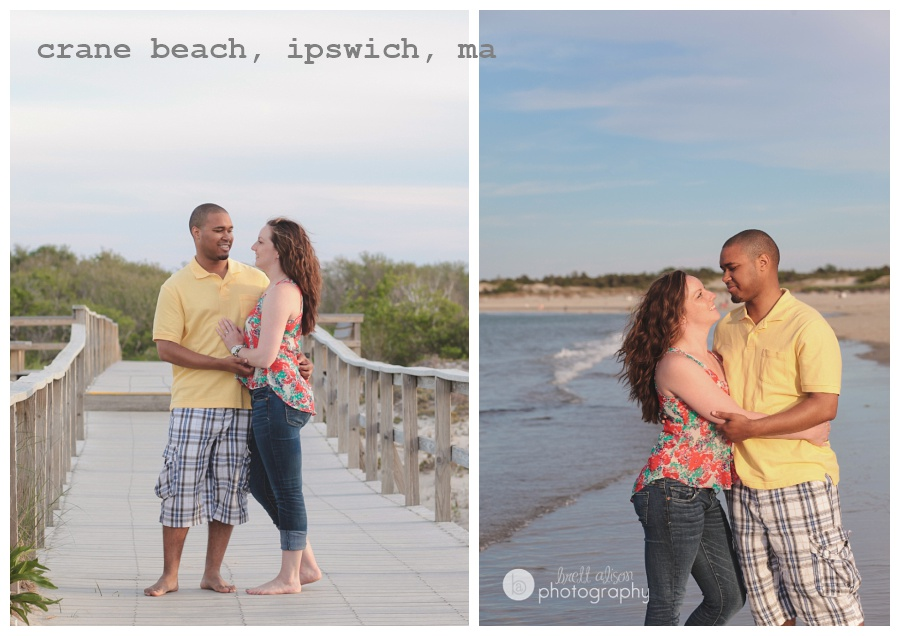 crane beach engagement session ipswich