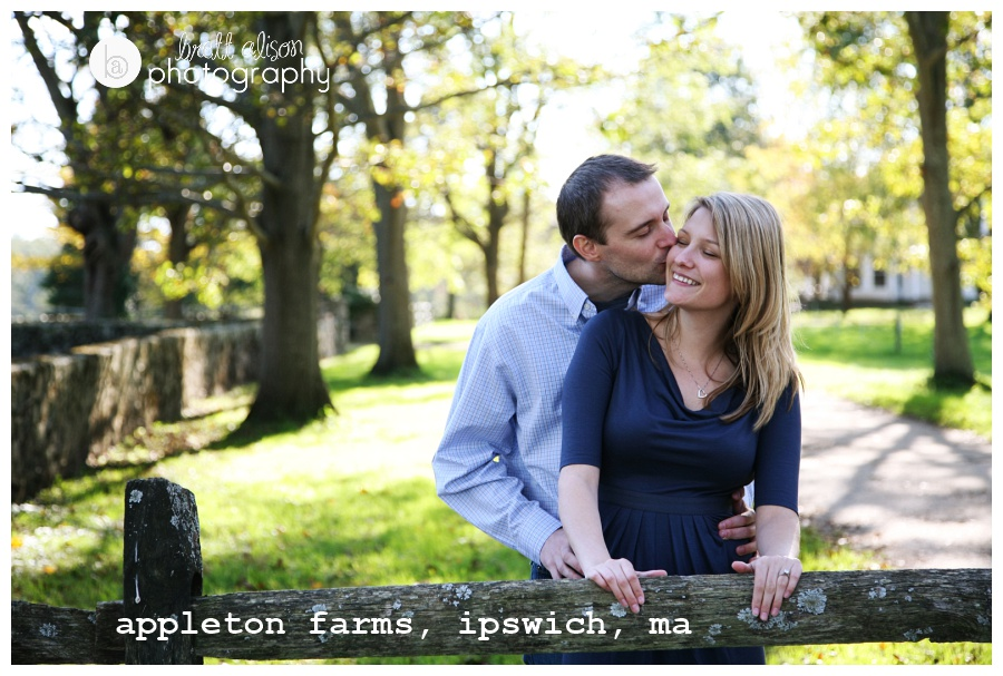 farm engagement session location near boston