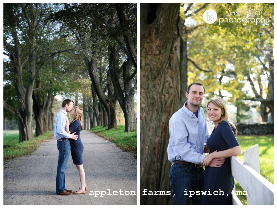 appleton farms ipswich engagement session