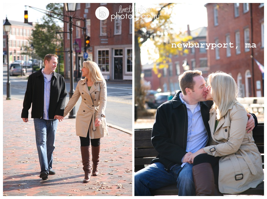 newburyport ma engagement session