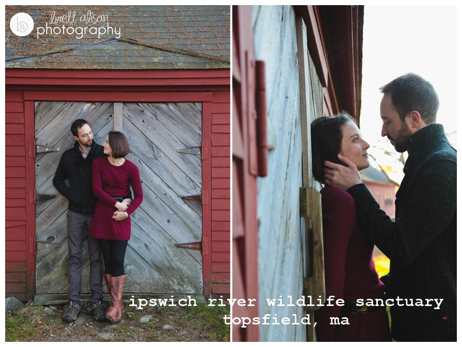 engagement portrait locations north of boston