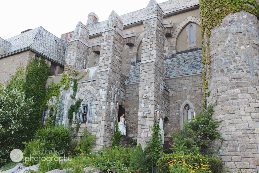 exterior of hammond castle from the water