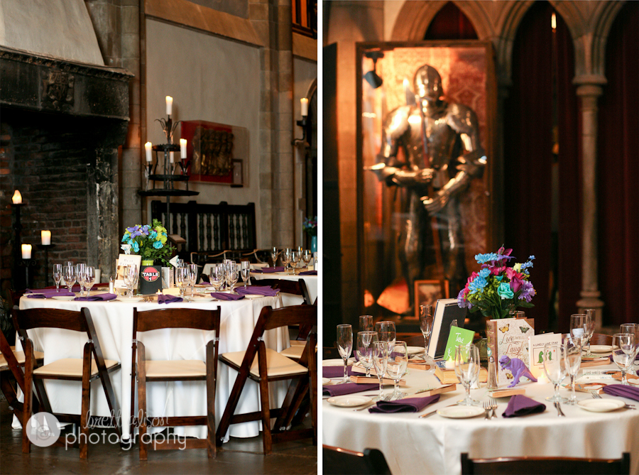 hammond castle wedding reception details