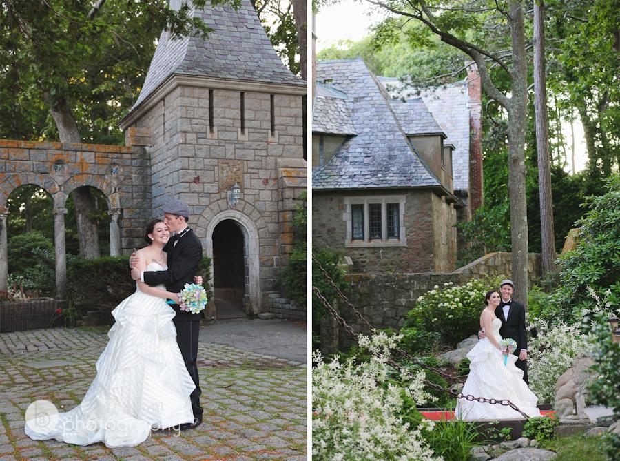 drawbridge wedding photos hammond castle