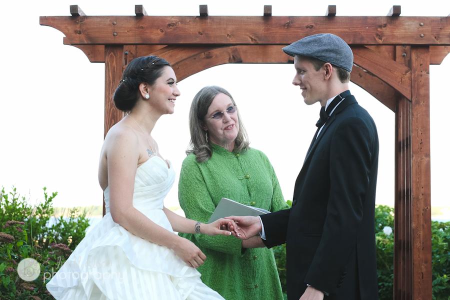 wedding ceremony hammond castle