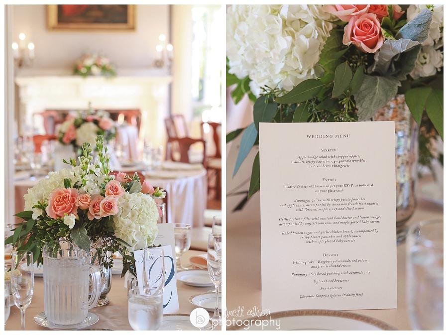 wedding details historic lyman estate