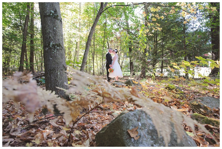 outdoors wedding new hampshire