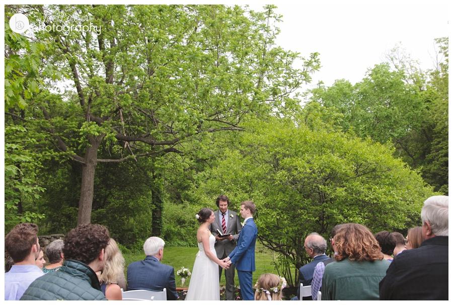 personal backyard wedding new england