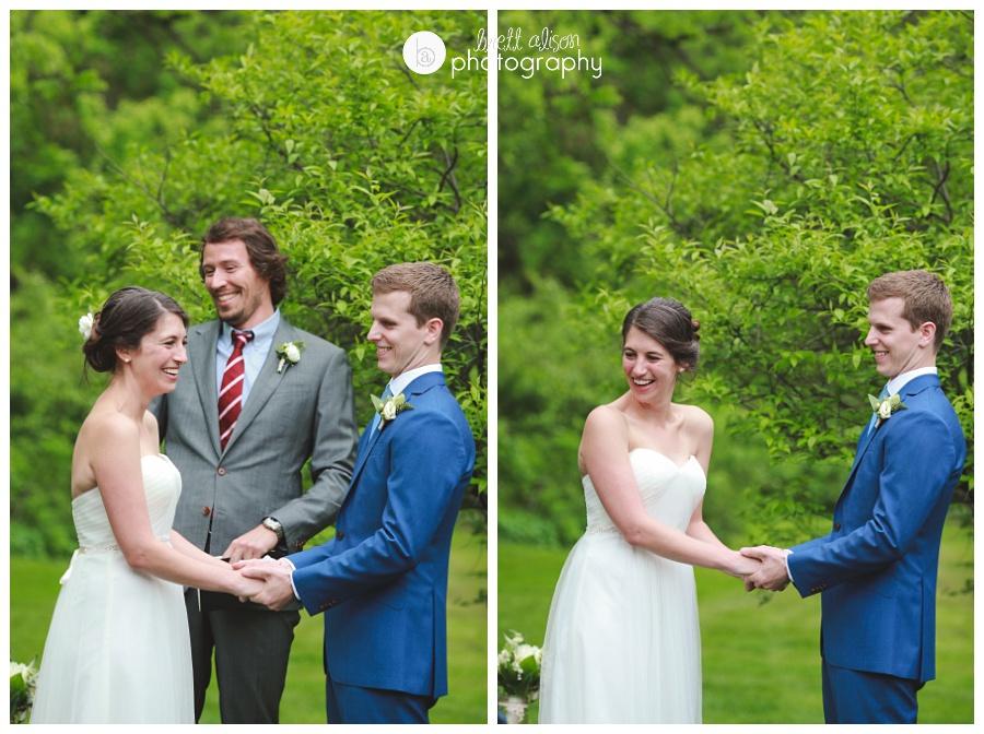 backyard wedding ceremony massachusetts