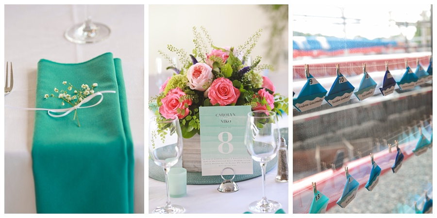 sailing themed wedding