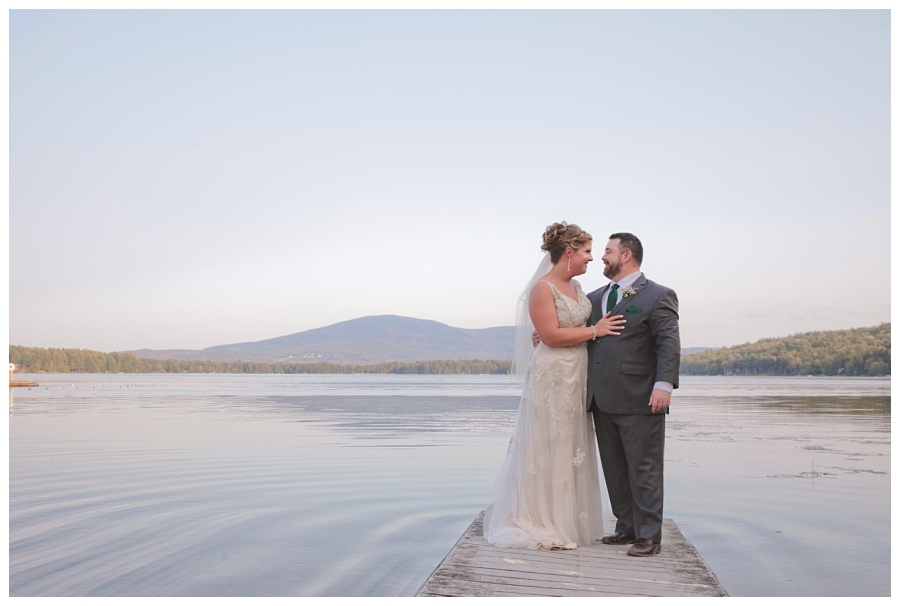 inn at pleasant lake wedding