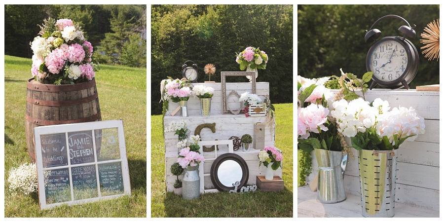 elegant rustic wedding new hampshire