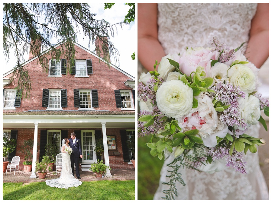 north andover estate wedding