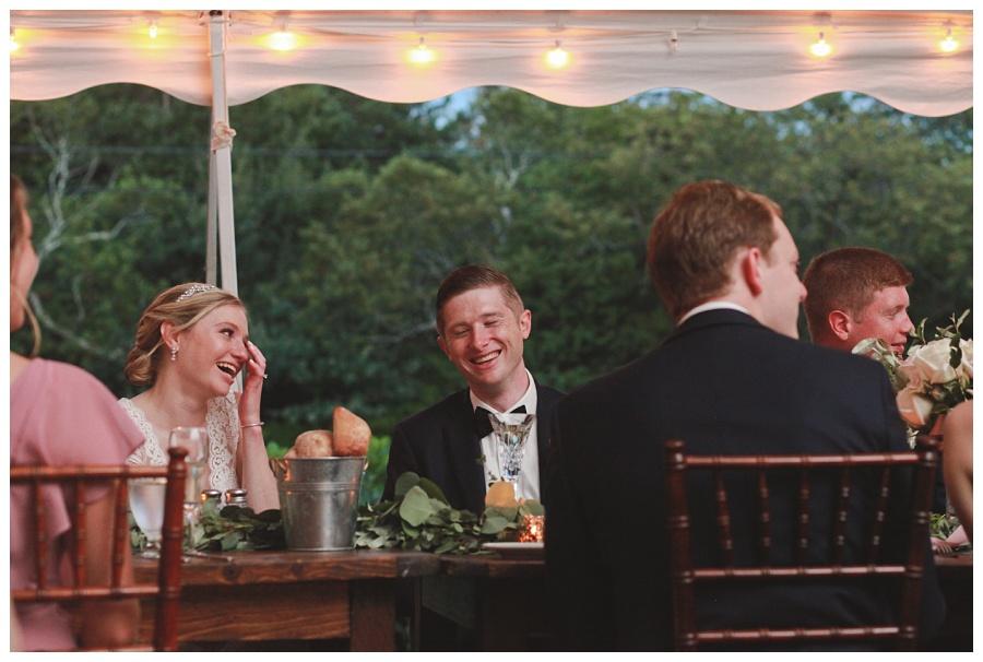tent wedding dennis inn cape cod