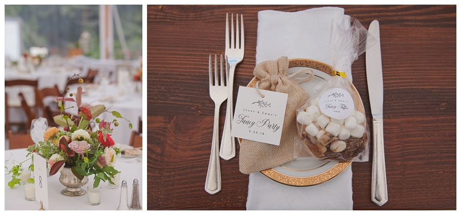 cute wedding favors and treats