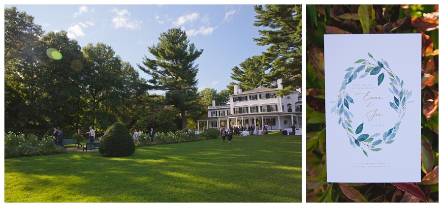 estate wedding venues massachusetts