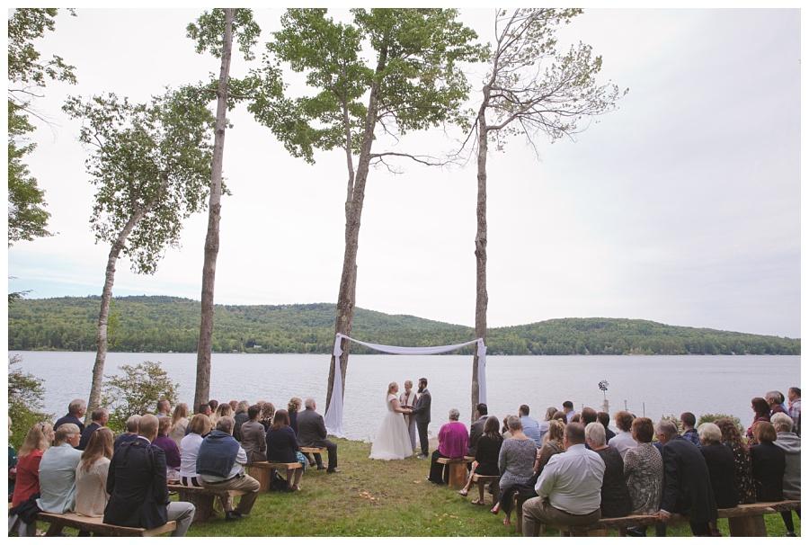 lake wedding new hampshire