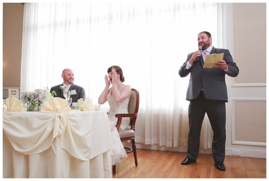 funny toasts photos at wedding
