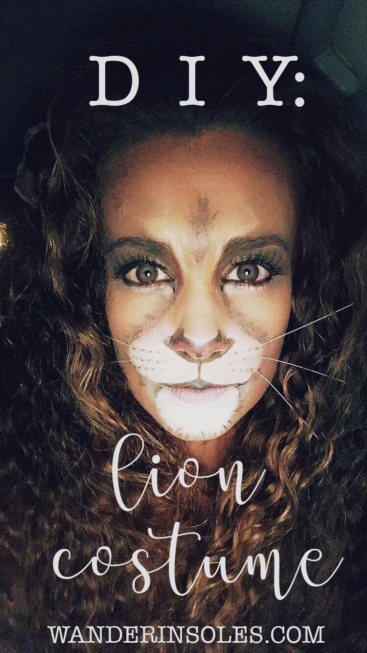 Halloween costumes wanderin soles diy lion costume solutioingenieria Choice Image