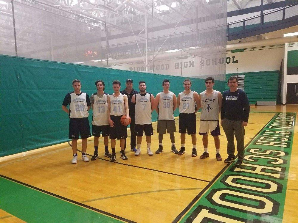 Little Fort sponsored St. Demetrios basketball team