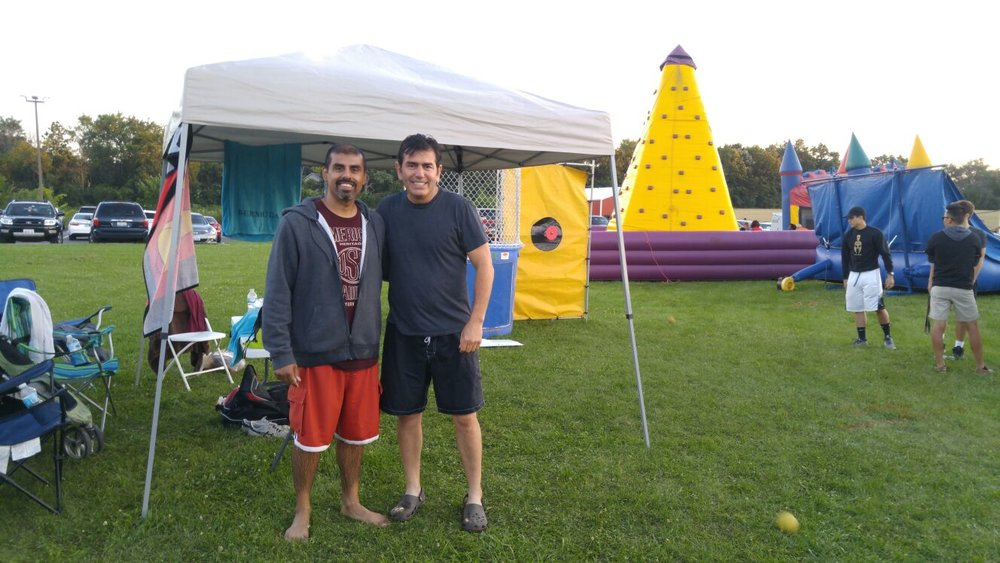 Chapter 218 sponsored the Dunk Tank attraction at the St Demetrios Summer Greek Fest in 2017