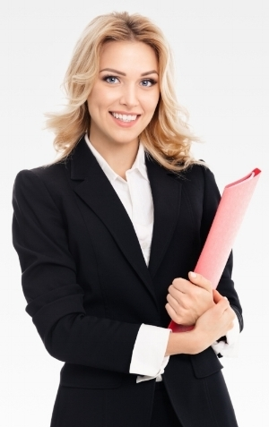 Young woman holding a folder businessman Stock Photo.jpg