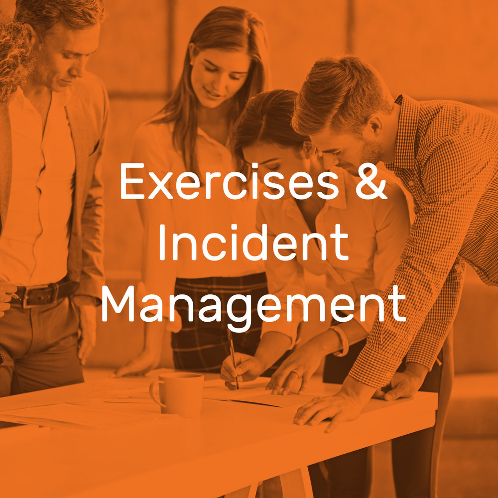 Exercises and Incident Management