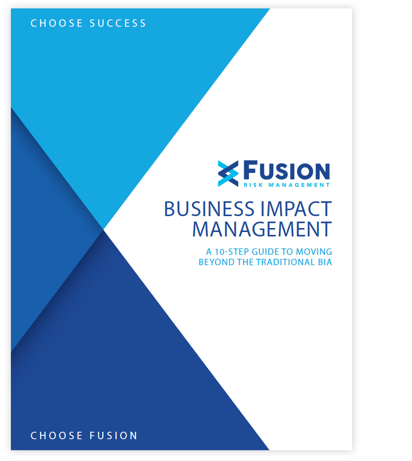 Fusion Risk Management Business Impact Management Guide