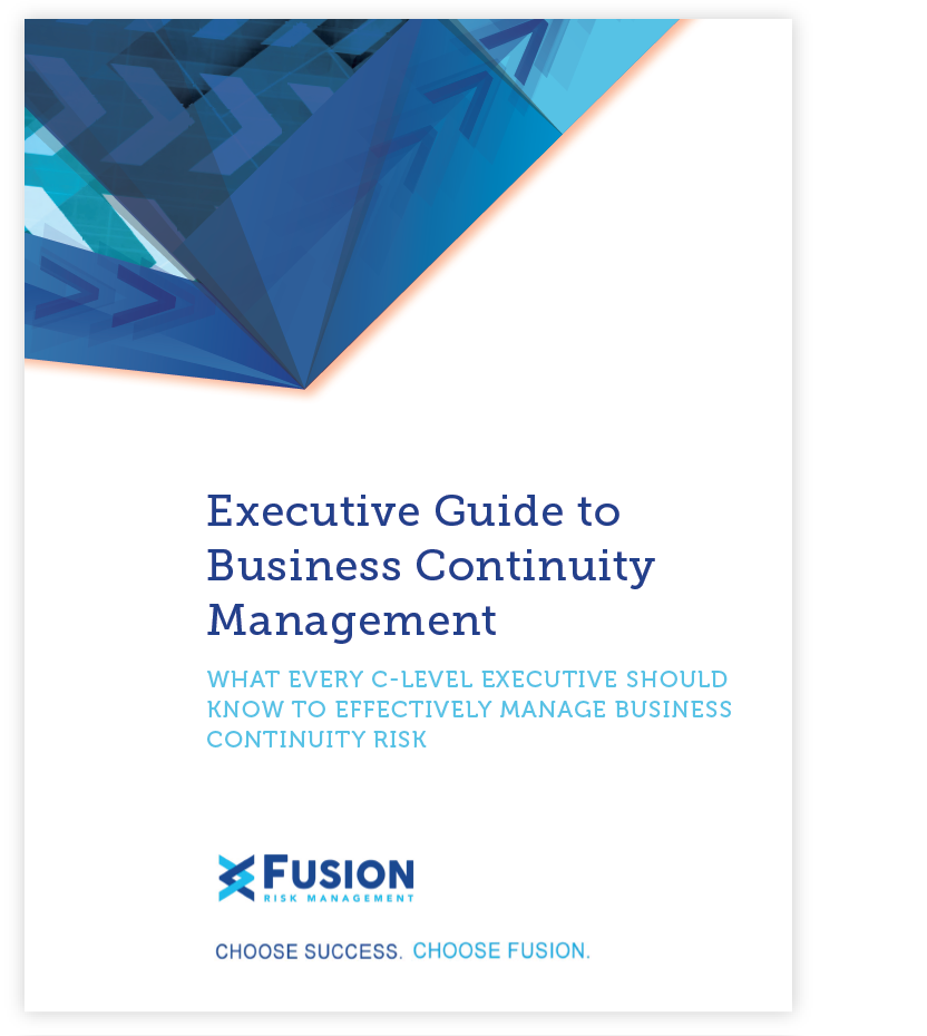 Fusion Risk Management Executive Guide