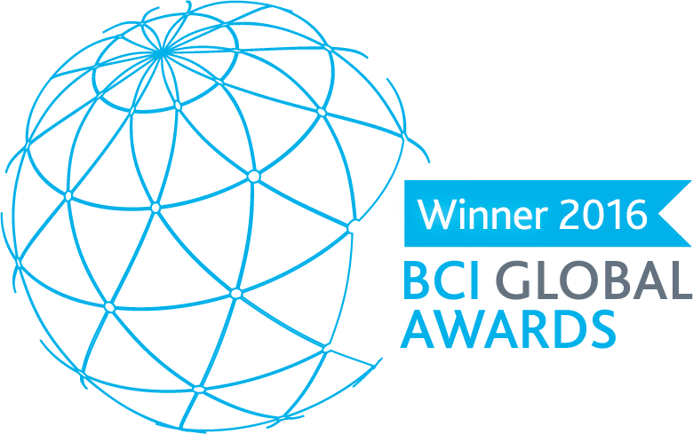 BCI Global Awards Winner 2016