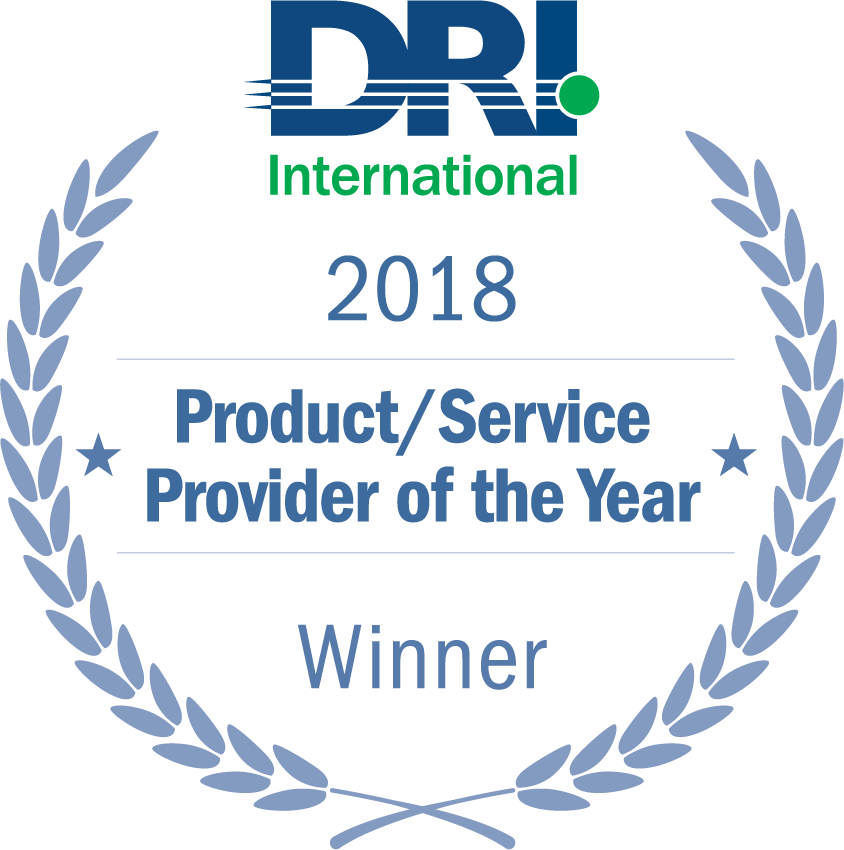 DRI 2018 Product/Service Provider of the Year Winner