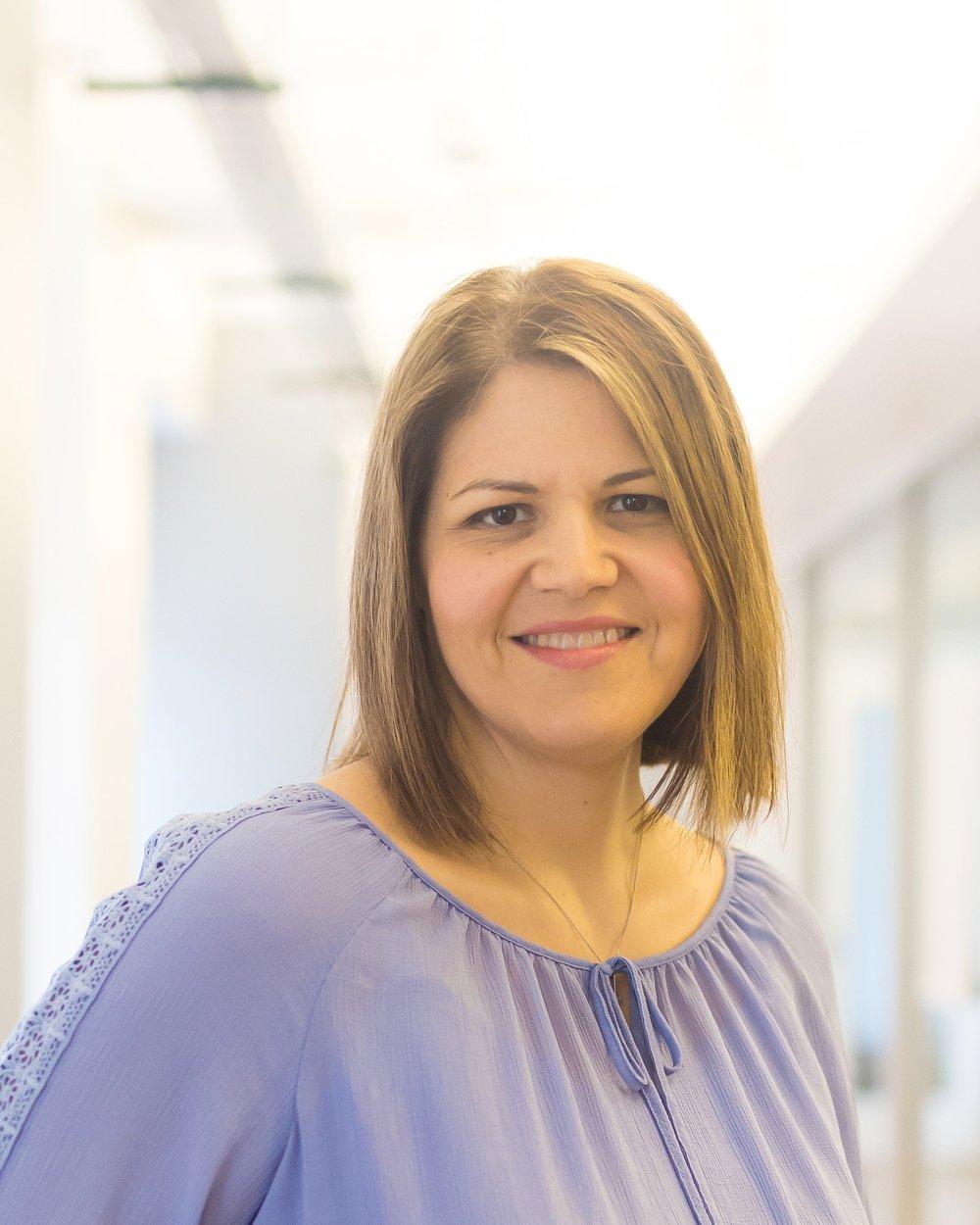 Vice President of Human Resources Joanna Zvirbulis