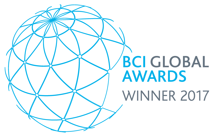 BCI Global Awards Winner 2017