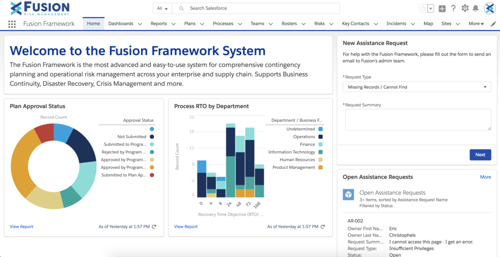 Welcome to the Fusion Framework System Screenshot.png