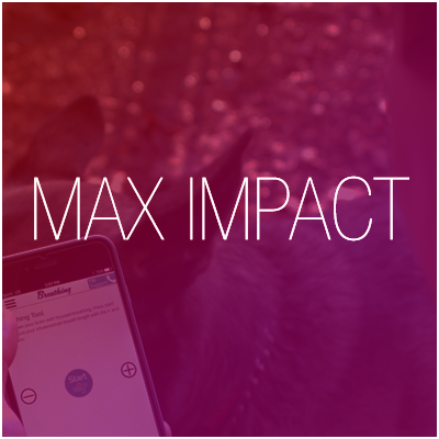 Part of an app promo video series we did for the Washington State Department of Veterans Affairs in Olympia. The   Max Impact   app aims to help veterans with TBI (traumatic brain injury).
